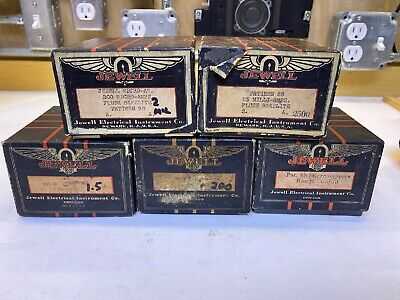 Vintage Jewell Electrical Instruments Co. Guage Meter Boxes