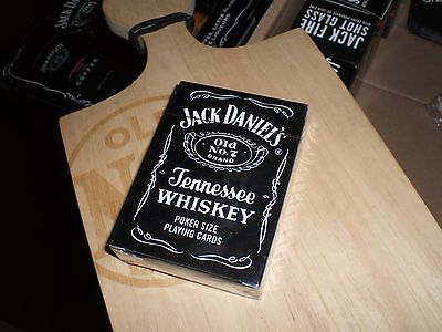 JACK DANIELS OLD NUMBER 7 POKER SIZED PLAYING CARDS  NEW