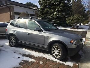 BMW X3 - 2006 - comes with safety and e-test - 7000$ or OBO