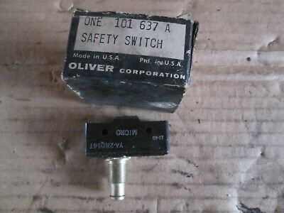Oliver Tractor 550770880 Brand New Safety Switch Nos
