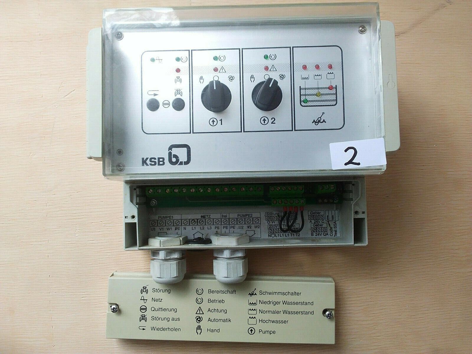 KSB Pumpensteuerung Mini-Compacta DDM7.2
