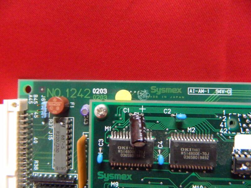 BOARD NO. 1242 (0203) AND BOARD 1230 (0401) FOR SYSMEX UF100I URINE ANALYZER