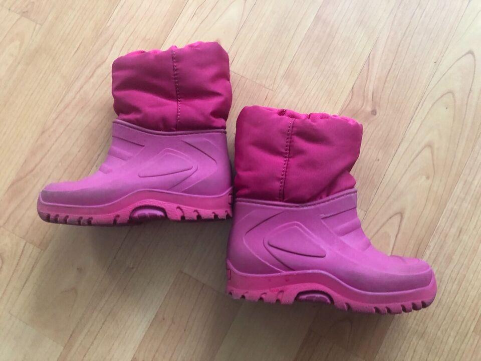 Winterstiefel Schnee-Stiefel Schnee-Schuhe 23 rosa Mädchen in West - Schwanheim