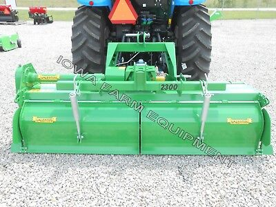 Tractor 3pt H-dty Pto Rotary Tiller 83 Valentini H2000 Qh Compat100hp Gbox