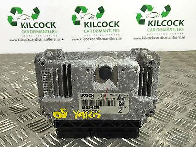 TOYOTA YARIS ENGINE ECU 89661-0DB60 BOSCH 0261S04206 2009 1.0 LITRE PETROL
