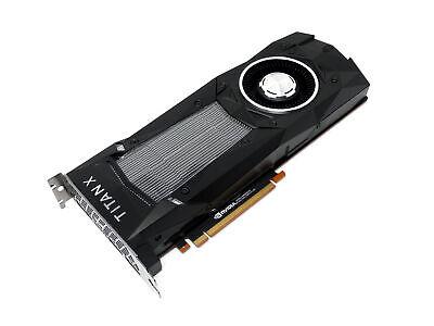 Nvidia GeForce GTX Titan Xp 12GB GDDR5X PCIe Video Graphics Card GPU