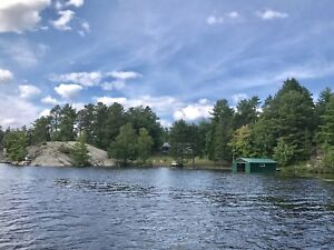 Special Autumn Private Waterfront Cottage At Nipissing Lake