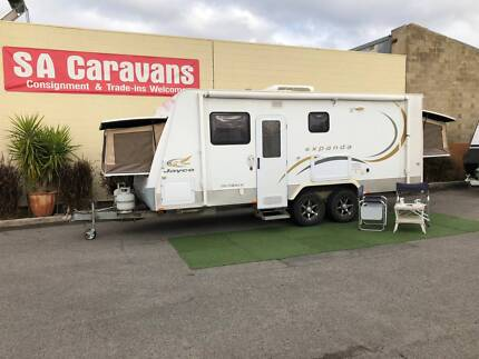2009 JAYCO 18' EXPANDA OUTBACK CARAVAN with SHOWER/TOILET Klemzig Port Adelaide Area Preview