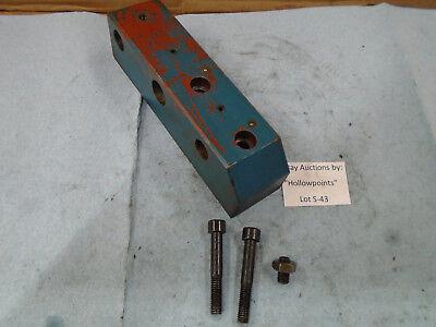 S43 Smithy Bz-239 12 Lathe Leadscrew Rod Holder Chizhou Machine Cz3001 Enco