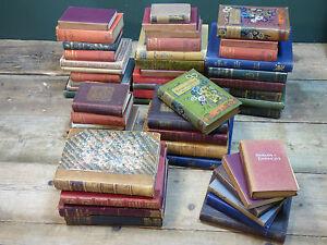 Job Lot of 25 Vintage Hardback Books * Wedding Centrepiece Displays, Bars, Pubs