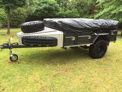 Johnnos Camper Trailer JCT-X-R15 Off Road. Top of the Range.
