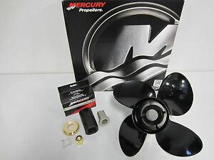 Mercury-New-OEM-Spitfire-4-Blade-Prop-13x17-Propeller-48-8M8026590-Pontoon