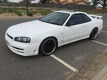 Nissan Skyline R34 GTT series 3 Coupe Turbo Manual Sunroof..!!!! Seaford Meadows Morphett Vale Area Preview