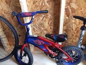 Vélo SpyderMan