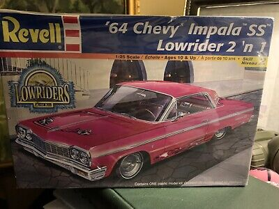 Revell  '64 Chevy Impala SS Lowrider 2 'n 1 New