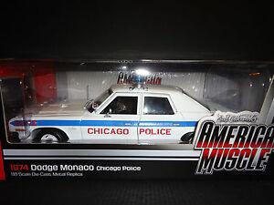 Auto world dodge monaco chicago police 1974 1 18 for Chicago motors used police cars