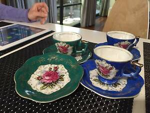 Vintage Chugai china tea cup and saucer. 7 pcs Thornleigh Hornsby Area Preview