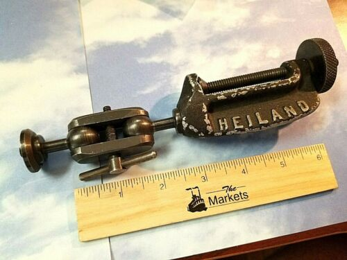 Vintage HEILAND Light Mount Clamp for Cameras, Multi-Jointed, Heavy Duty