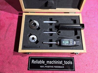 Fowler Xt Inside Bore Gage 38 To 34 Inch .00005 Grad W Setting Ring Machinist