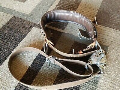 Buckingham Ers Linemans Pole Climbing Safety Belt Sz 30 Wsafety Strap