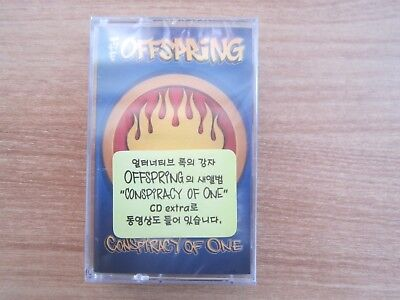 The Offspring - Conspiracy Of One Korea Factory Sealed Cassette Tape BRAND NEW