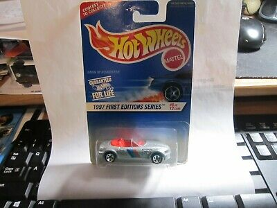 Hot Wheels 6/12  1997 First Editions Series #518 BMW M Roadster