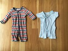 Baby Boy Newborn Purebaby Onesie/Sleepsuit in One and Kimono 0000 Bicton Melville Area Preview