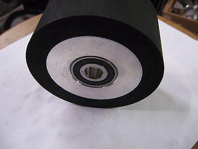 2x72 Belt Sandergrinder Rubber Contact Wheel 100mm4 Knife Making Wheel