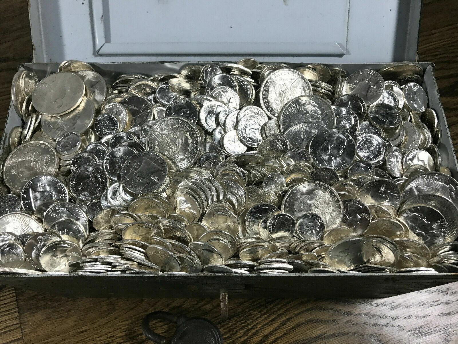 Best  UNCIRCULATED SILVER COINS US GOLD BARS BULLION ESTATE SALE MORGAN DOLLAR VINTAGE