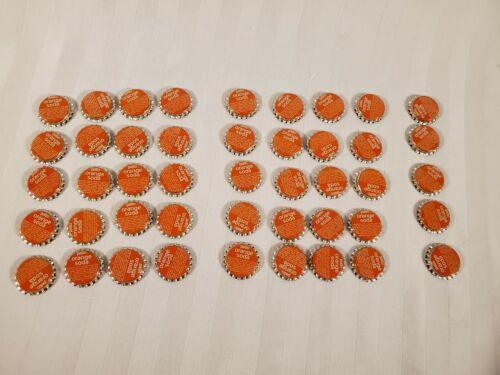 Patio Orange Soda Bottle Caps. Uncrimped. Vintage. Lot of 45.