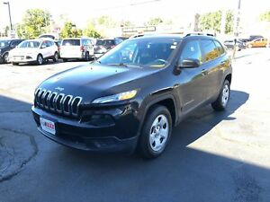 2014 Jeep Cherokee Sport- HEATED FRONT SEATS, REAR VIEW CAMERA
