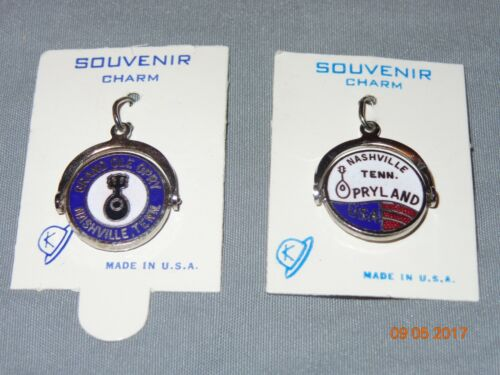 New: Opryland USA Theme Park & Grand Old Opry Souvenir Charms