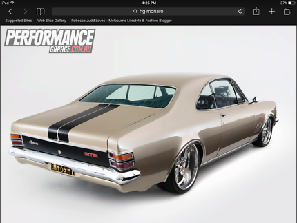 Wanted: Wanted to buy 68 HK Monaro - modified