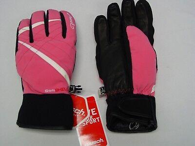 Pink Ski Gloves - Reusch Ski Gloves SoftShell REAL DOWN RtexXT 4231236S Womens Small Pink FEDORA