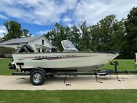 2020 Bass Tracker Pro Guide 165 WT with 115 Mercury and Trailer