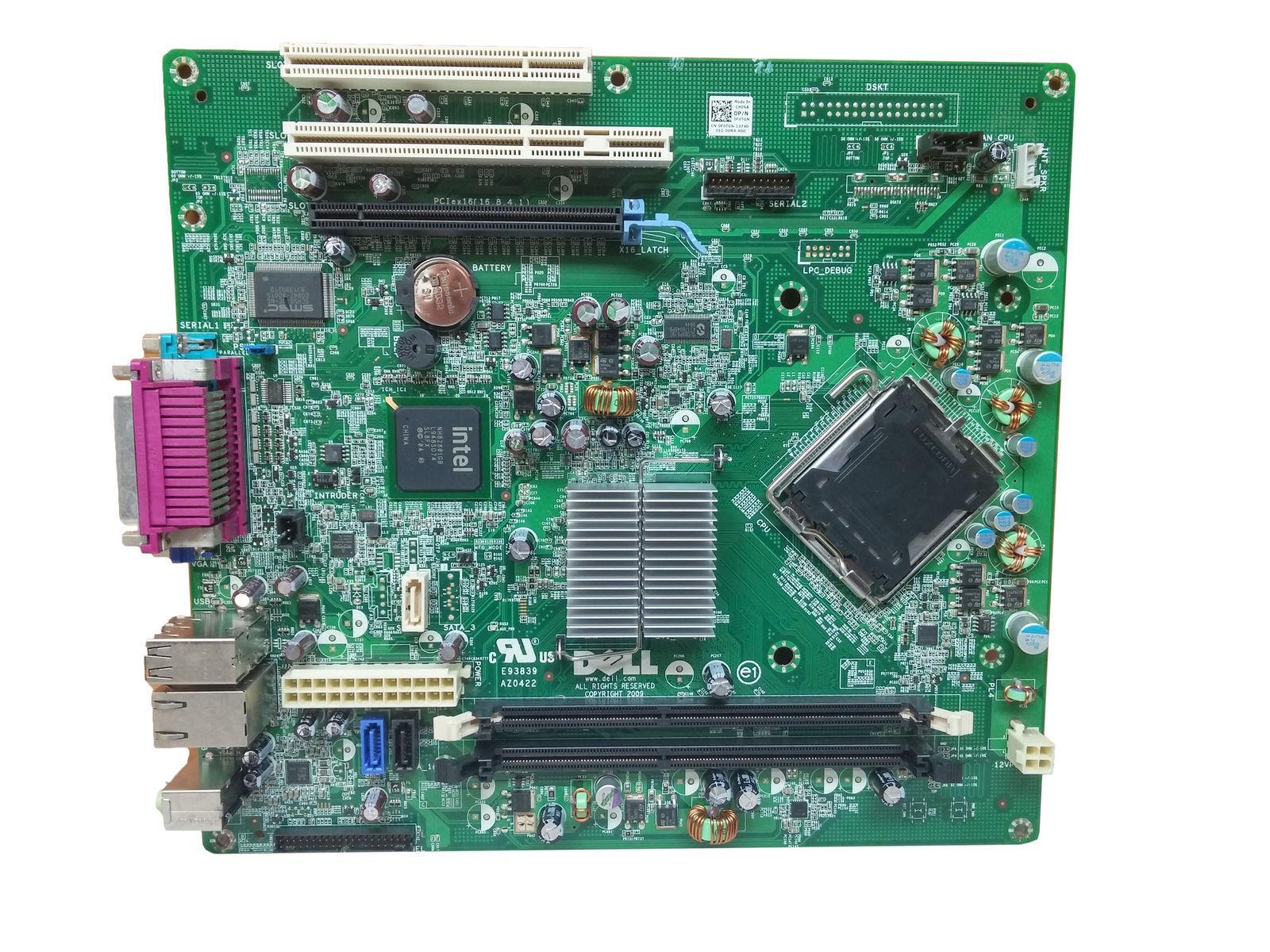 Genuine Dell Optiplex 380 DDR3 LGA 775 Desktop Motherboard 0HN7XN HN7XN F0TGN
