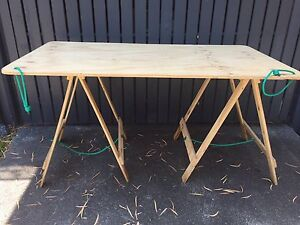 Plywood Trestle Table Windsor Brisbane North East Preview