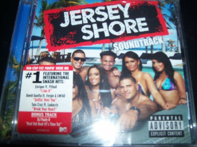Jersey Shore Original TV Soundtrack CD - New