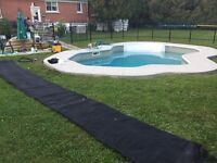SWIMMING POOL MAINTENANCE AND CLOSING SERVICES