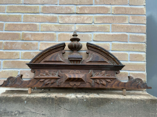 decorative antique victorian Louis XVI ornate french Architectural Pediment