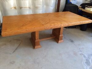 Hardwood Dining Table with extension