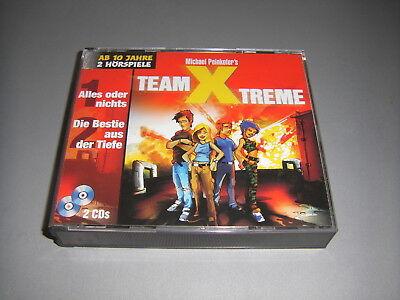 CD TEAM X TREME ALLES ODER NICHTS DIE BESTIE AUS DER TIEFE 2 CDS