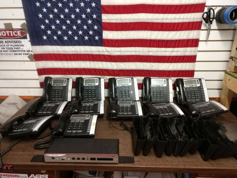 Allworx Connect 536 Business Phone System with 12 / 9212L Dsly IP Phones