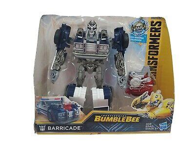 Hasbro Transformers Bumblebee Energon Igniters Nitro Series Barricade NEW
