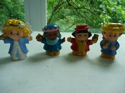 Fisher Price Little People Christmas Nativity Wisemen and Angel Lot