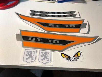 Kit autocollant stickers Peugeot 103 gt10 gt 10