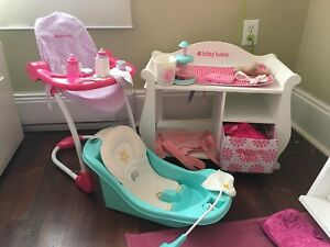 "American Girl Furniture/Accessories for ""Bitty Baby"""
