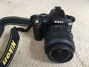 NIKON D60 SLR camera with 18-55mm and 55-200mm Nikkor VR lenses Edgecliff Eastern Suburbs Preview