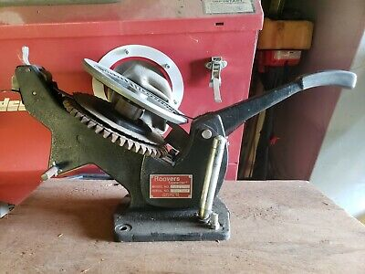 Roovers Embosser - Metal Tape Tapewriter Machine Industrial Model T10a