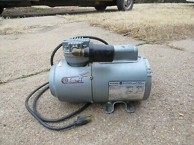 Gast 1hab-64-m116x 16 Hp Electric Piston Air Compressor Pump Oil-less